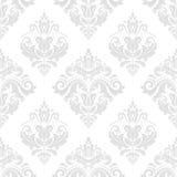 Nahtloses Muster des Damastes vektor Stockfotografie