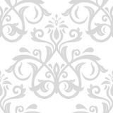 Nahtloses Muster des Damastes vektor Lizenzfreie Stockbilder