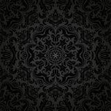 Nahtloses Muster des Damastes vektor Orient-Hintergrund Stockfoto