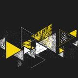 Nahtloses Muster des Dreiecks Stockbilder