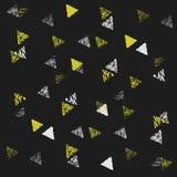 Nahtloses Muster des Dreiecks Lizenzfreie Stockbilder