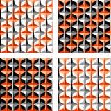 Nahtloses Muster des Entwurfs Lizenzfreies Stockfoto