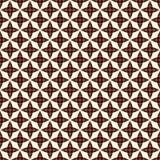 Nahtloses Muster des Entwurfs mit stilisierten wiederholenden Sternen Einfache geometrische Verzierung abstrakter Hintergrund Stockbilder