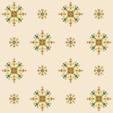 Nahtloses Muster des ethnischen Designs Stockbilder