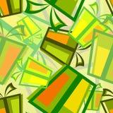 Nahtloses Muster des Geschenkkastens Lizenzfreies Stockfoto