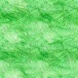 Nahtloses Muster des grünen Farbenaquarells Alte Backsteinmauer Stockbild