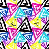 Nahtloses Muster des Graffiti-Hintergrundes Lizenzfreie Stockbilder