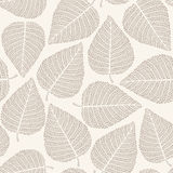 Nahtloses Muster des Herbstes stock abbildung