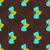 Nahtloses Muster des Herbstes Stockfotos