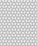 Nahtloses Muster des Hexagons Stockbilder