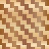 Nahtloses Muster des Holzfußbodenparketts Auch im corel abgehobenen Betrag Stockfotografie