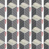 Nahtloses Muster des Hotels Lizenzfreies Stockfoto