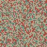 Nahtloses Muster des Knit Stockbild