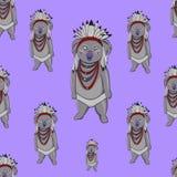 Nahtloses Muster des Koalabären Lizenzfreies Stockfoto