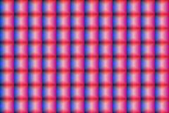 Nahtloses Muster des konvexen Glasmosaiks, volumetrische Kontrolleure, Glasblöcke Stockbild