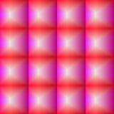 Nahtloses Muster des konvexen Glasmosaiks, volumetrische Kontrolleure, Glasblöcke Lizenzfreies Stockfoto