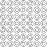 Nahtloses Muster des Kugellagers Lizenzfreies Stockfoto