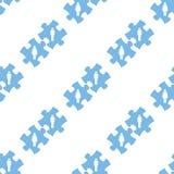 Nahtloses Muster des Liebespuzzlespiels Stockfoto