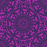Nahtloses Muster des marokkanischen Mosaiks Stockfotografie