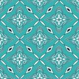Nahtloses Muster des marokkanischen Mosaiks Lizenzfreies Stockbild