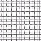 Nahtloses Muster des Maschendrahts Stockfoto