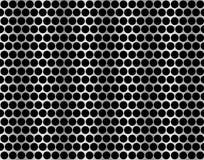 Nahtloses Muster des Metallgitters. Lizenzfreies Stockfoto