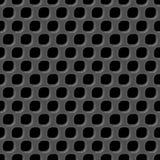 Nahtloses Muster des Metallrasterfeldes Stockbilder