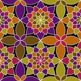 Nahtloses Muster des Mosaikvektors Lizenzfreie Stockfotografie
