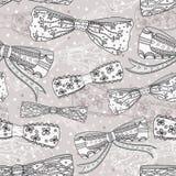 Nahtloses Muster des netten Bogens Stockbilder