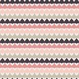 Nahtloses Muster des netten Retro- abstrakten Streifens Stockfotos