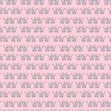 Nahtloses Muster des Pram Mehrfarbiges Muster Lizenzfreie Stockfotografie