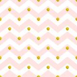 Nahtloses Muster des rosa Sparrens stock abbildung