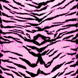 Nahtloses Muster des rosa Tigers Tierdesign Es kann für Leistung der Planungsarbeit notwendig sein Stockbild