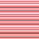 Nahtloses Muster des roten Streifens Stockfotografie
