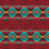 Nahtloses Muster des südwestlichen Navajos lizenzfreie stockfotografie