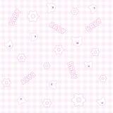Nahtloses Muster des Schätzchens Lizenzfreies Stockfoto
