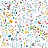 Nahtloses Muster des Sommers. Stockbild