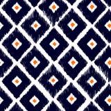 Nahtloses Muster des Stammes- Vektors Hand gezeichneter abstrakter Hintergrund Stockbild