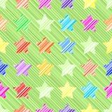 Nahtloses Muster des Sternes vektor abbildung