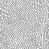 Nahtloses Muster des Tupfens lizenzfreie abbildung