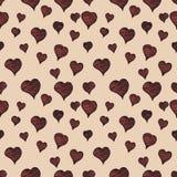 Nahtloses Muster des Valentinsgrußes Stockfotografie