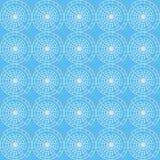 Nahtloses Muster des Vektors des abstrakten Kreises vektor abbildung