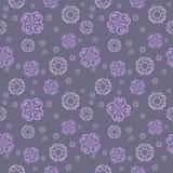 Nahtloses Muster des Vektors - abstrakter Hintergrund Stockbilder