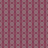 Nahtloses Muster des Vektors der abstrakten dekorativen Kunst, bezogen auf ethnischem, Stammes- und Kultur vektor abbildung