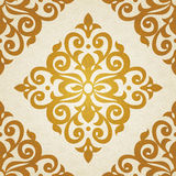 Nahtloses Muster des Vektors im viktorianischen Stil Lizenzfreies Stockbild