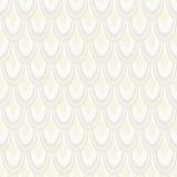 Nahtloses Muster des Vektors mit abstrakten Federn Stockbild