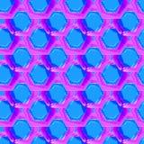Nahtloses Muster des Vektors mit Aquarellkreisen Lizenzfreies Stockbild