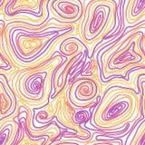 Nahtloses Muster des Vektors mit farbigen Threads Lizenzfreie Stockfotografie