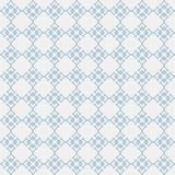 Nahtloses Muster des Vektors von abstrakten Sternen in der unbedeutenden Linie Kunst stock abbildung