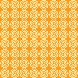 Nahtloses Muster des Vektors von abstrakten Sternen, groß für Gewebe oder Hintergrund lizenzfreie abbildung